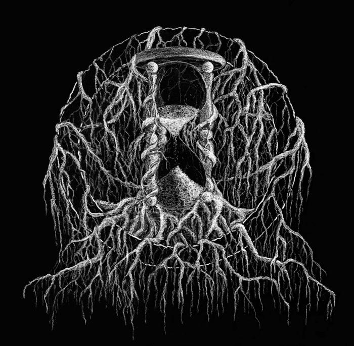 dylan garrett smith xvx burrow album art pennsylvania sludge band