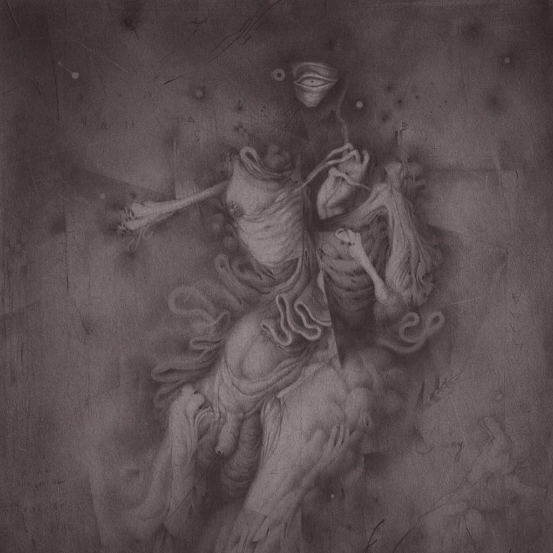 """Detail of  """"Vanitas (Stones Thrown)"""" by Allison Sommers"""