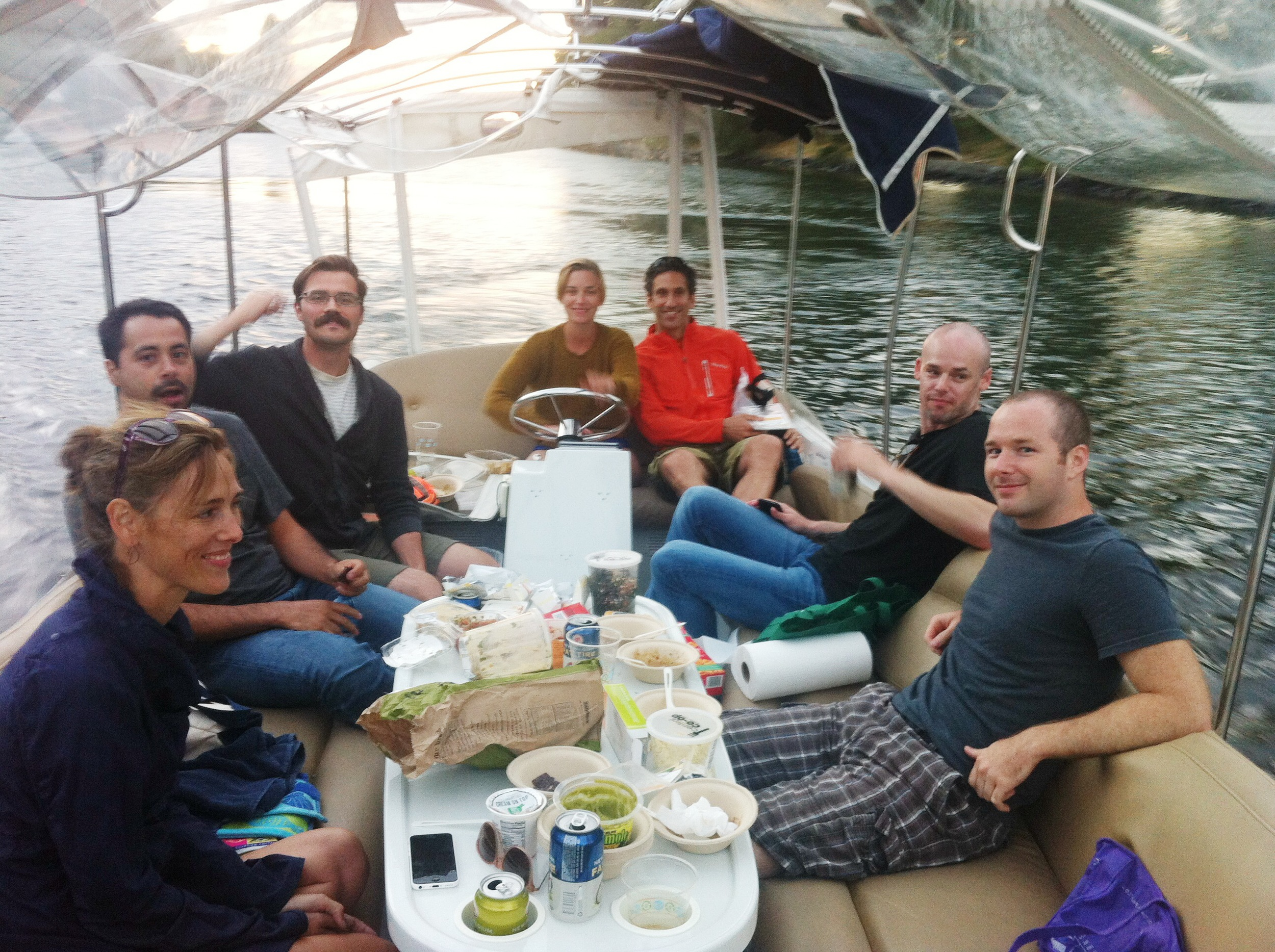 Office Outing 2014 | Boating on Lake Union