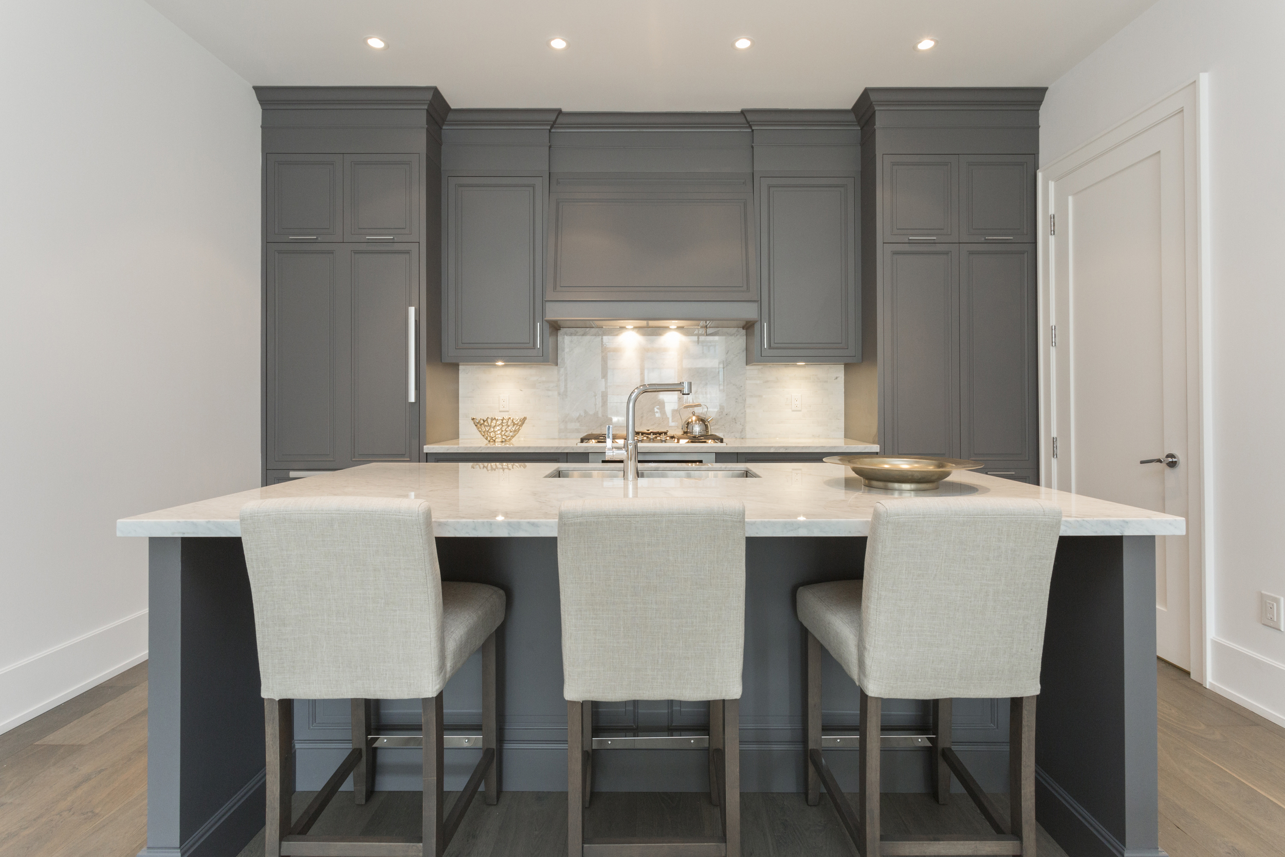 The gorgeous custom kitchen.Photo by  My Home Viewer.