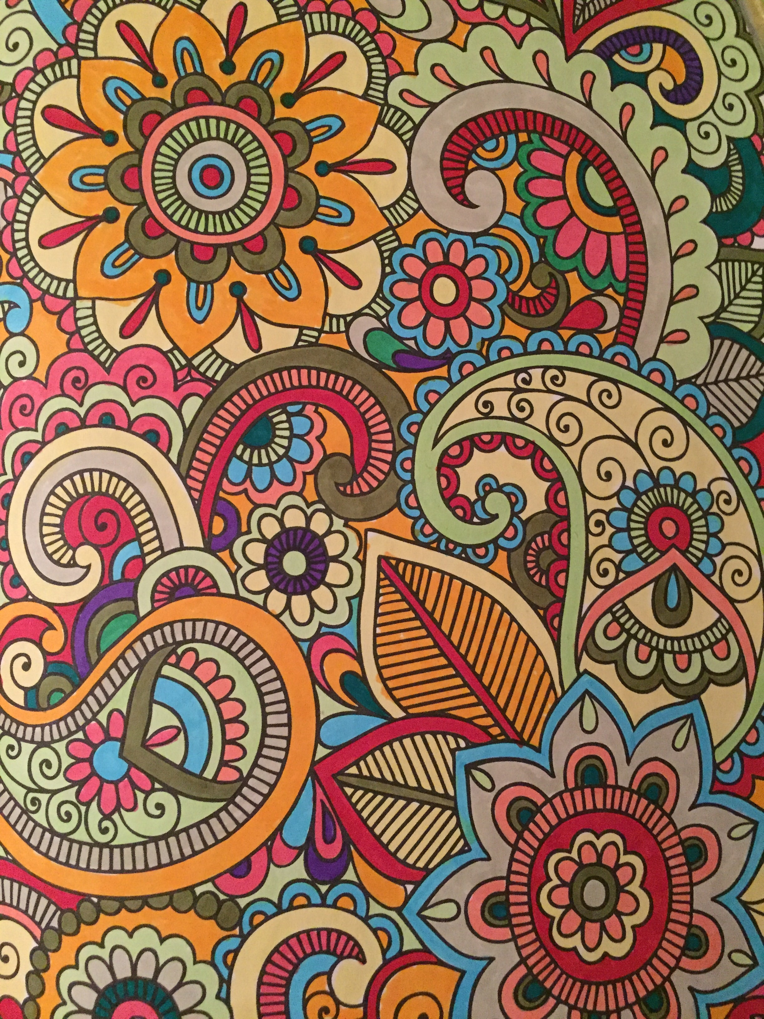 Vibrant results with Stabilo Pens.
