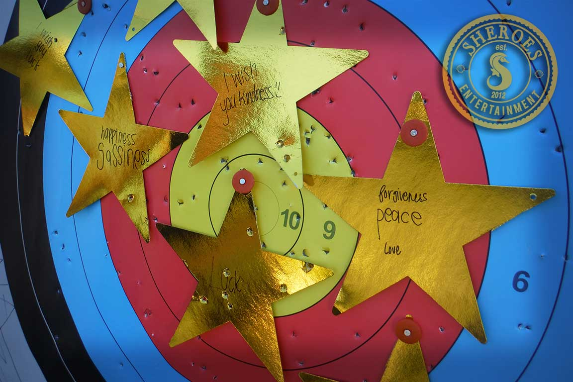 We do both drills to teach skills and lead archery themed games to keep guests entertained while learning.