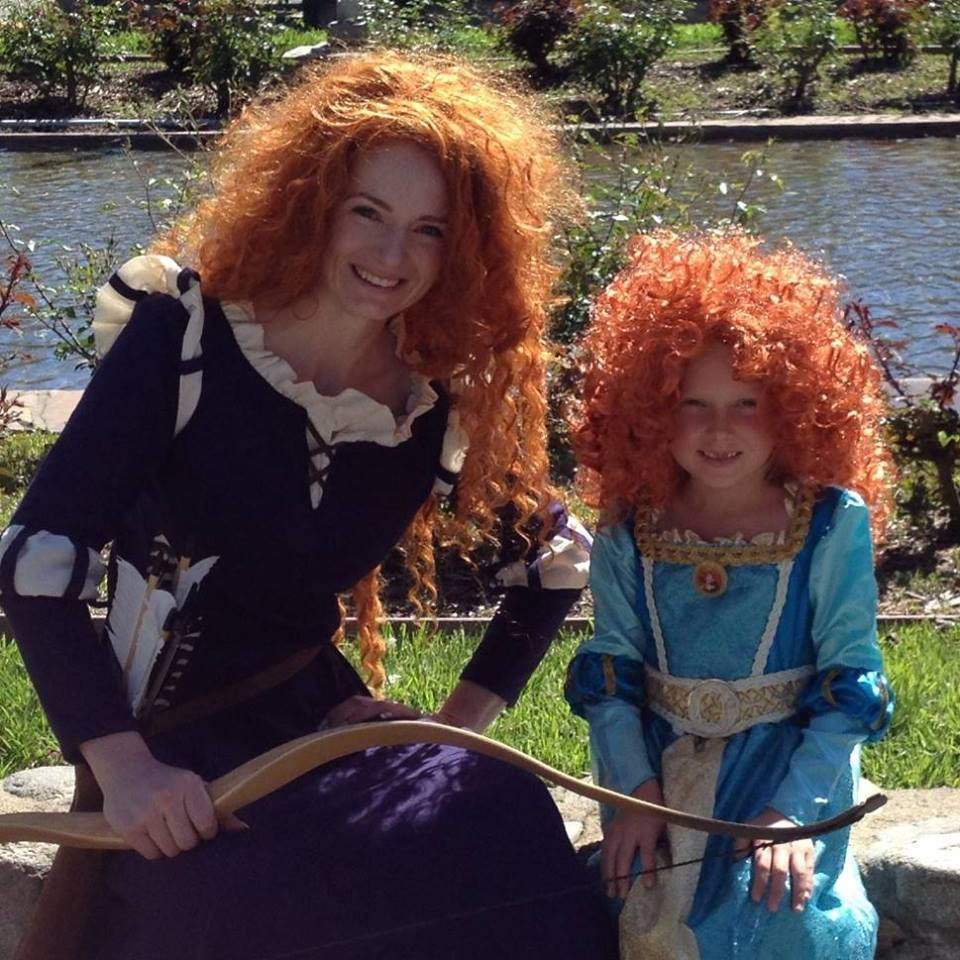 Are you brave enough to try archery? Merida and Brave themed parties are a perfect match for archery!