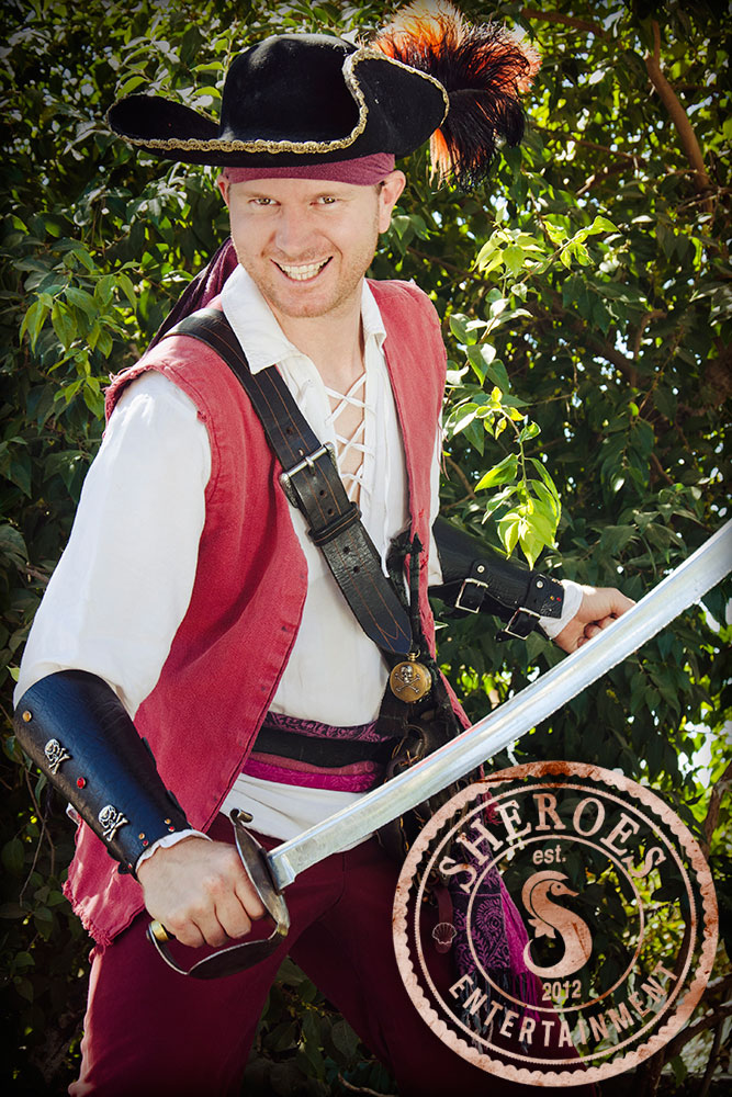 Captain Savvy is ready to take your guests on the adventure of a lifetime!