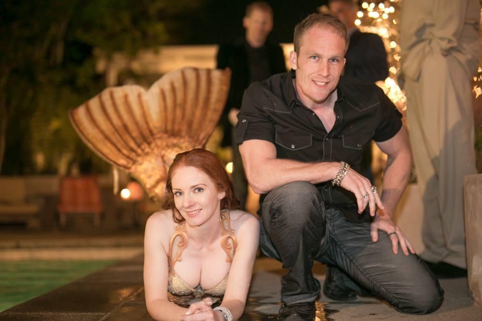 Catalina Mermaid - Pool Party - Valentines  with John Stix.JPG
