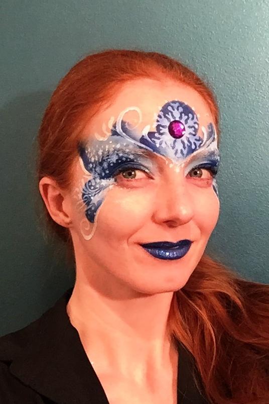 frozen fairy face paint.JPG