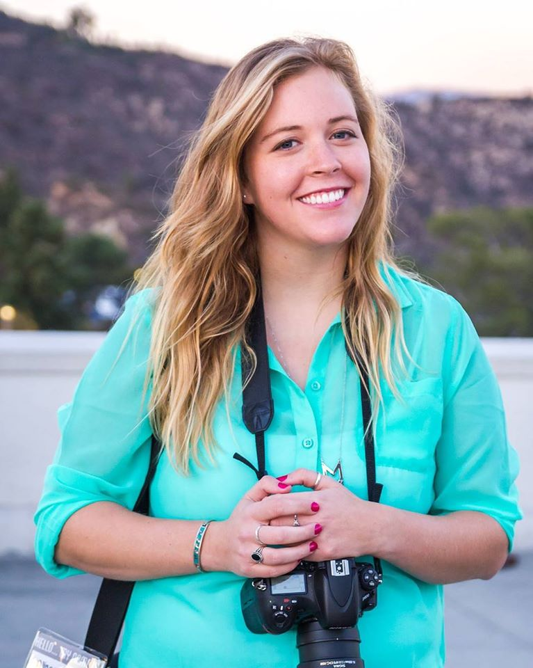 Alissa with Camera