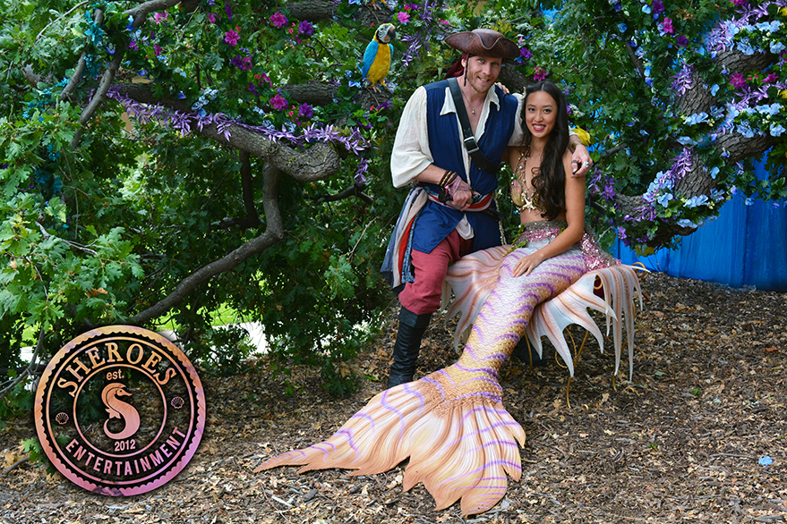 Los Angeles Asian Mermaid and Pirate