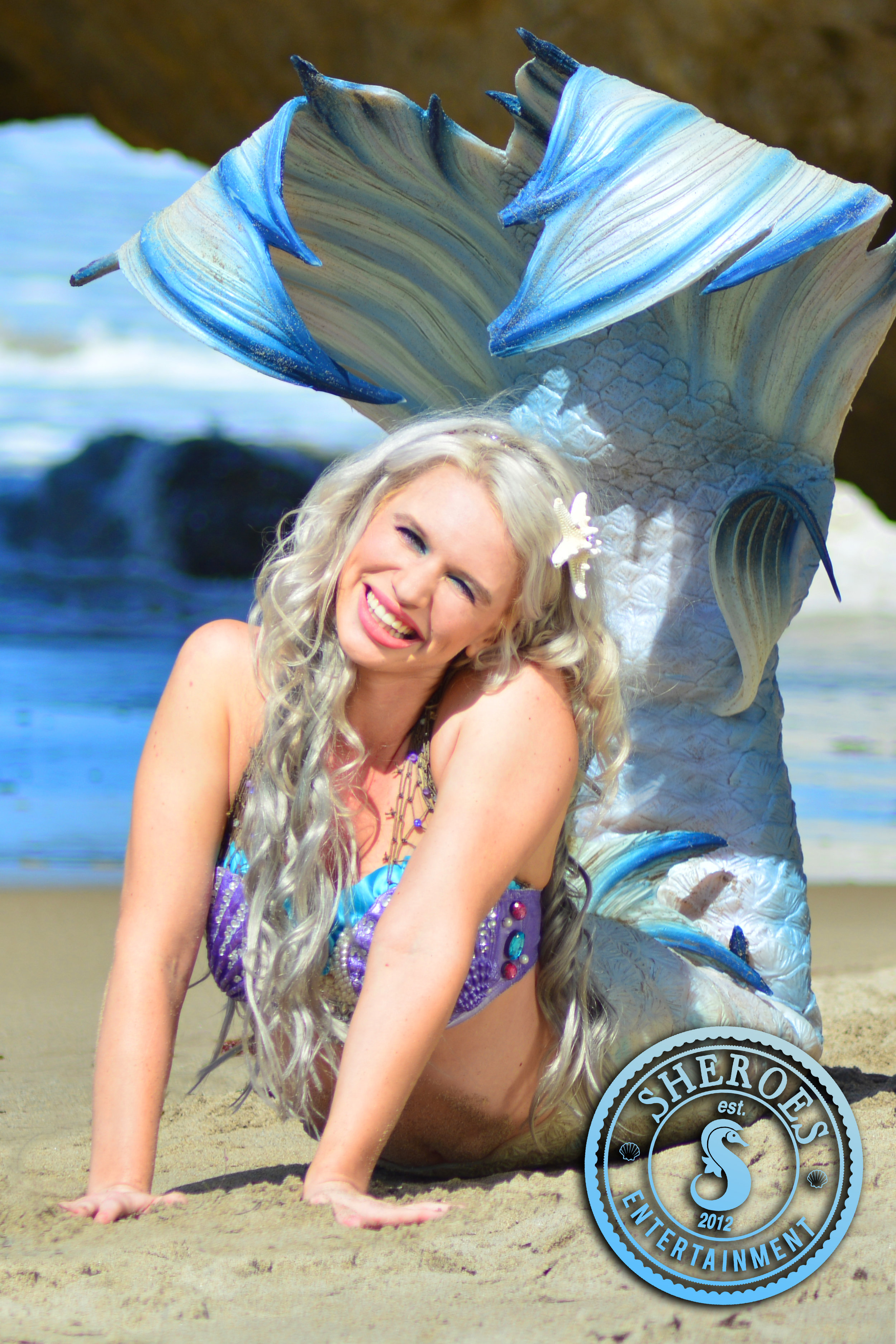 Professional Mermaid Splash Downtown Los Angeles