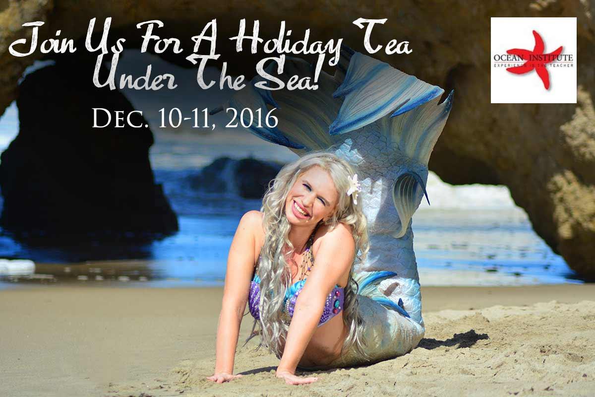 mermaid show in california at ocean institute
