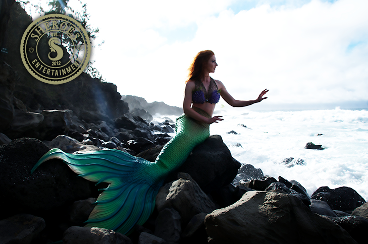 Catalina Mermaid as Little Mermaid on Rocks 2.png
