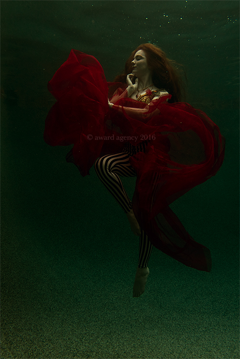 Chris Ward Orange Dress Photo 2 - Virginia Underwater.jpg