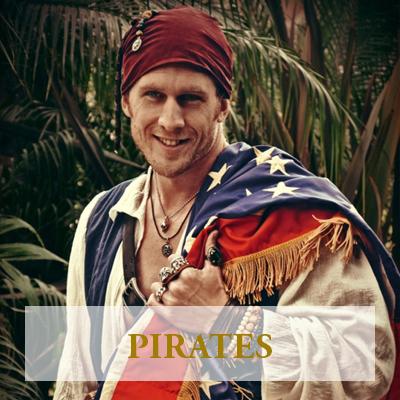 Pirate Birthday Party Character Pasadena