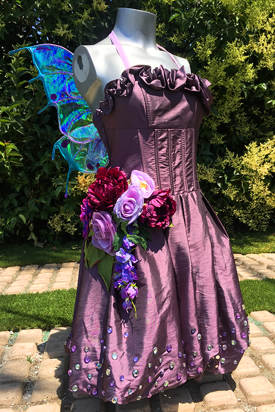 Purple Upscale Fairy Party Costume Los Angeles