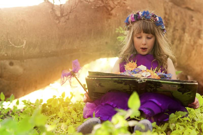 Let your daughter's imagination take flight!