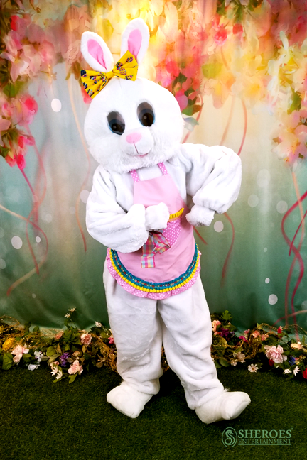 Ventura County Party Girl Easter Bunny Costume Character