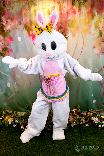Los Angeles Party Cute Girl Easter Bunny Costume Character