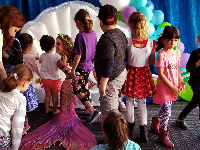 Los Angeles Mermaid Show for Kids