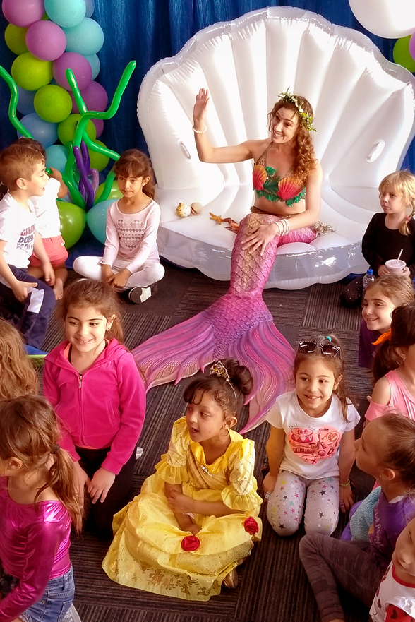 Los Angeles Mermaid Party for Girls