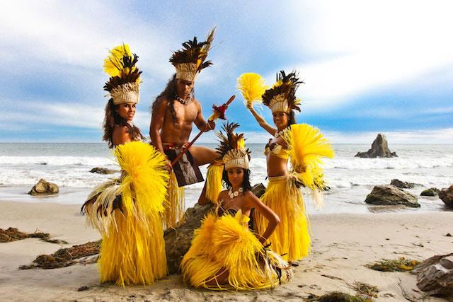 "Island Fever ""Tahitian"" Style Dance Costume Sample"