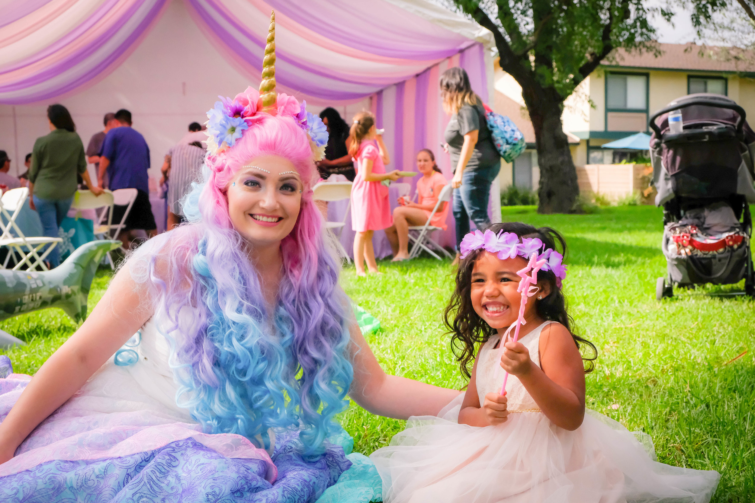 Orange County Inland Empire Unicorn Princess Birthday Party Entertainment Character 3