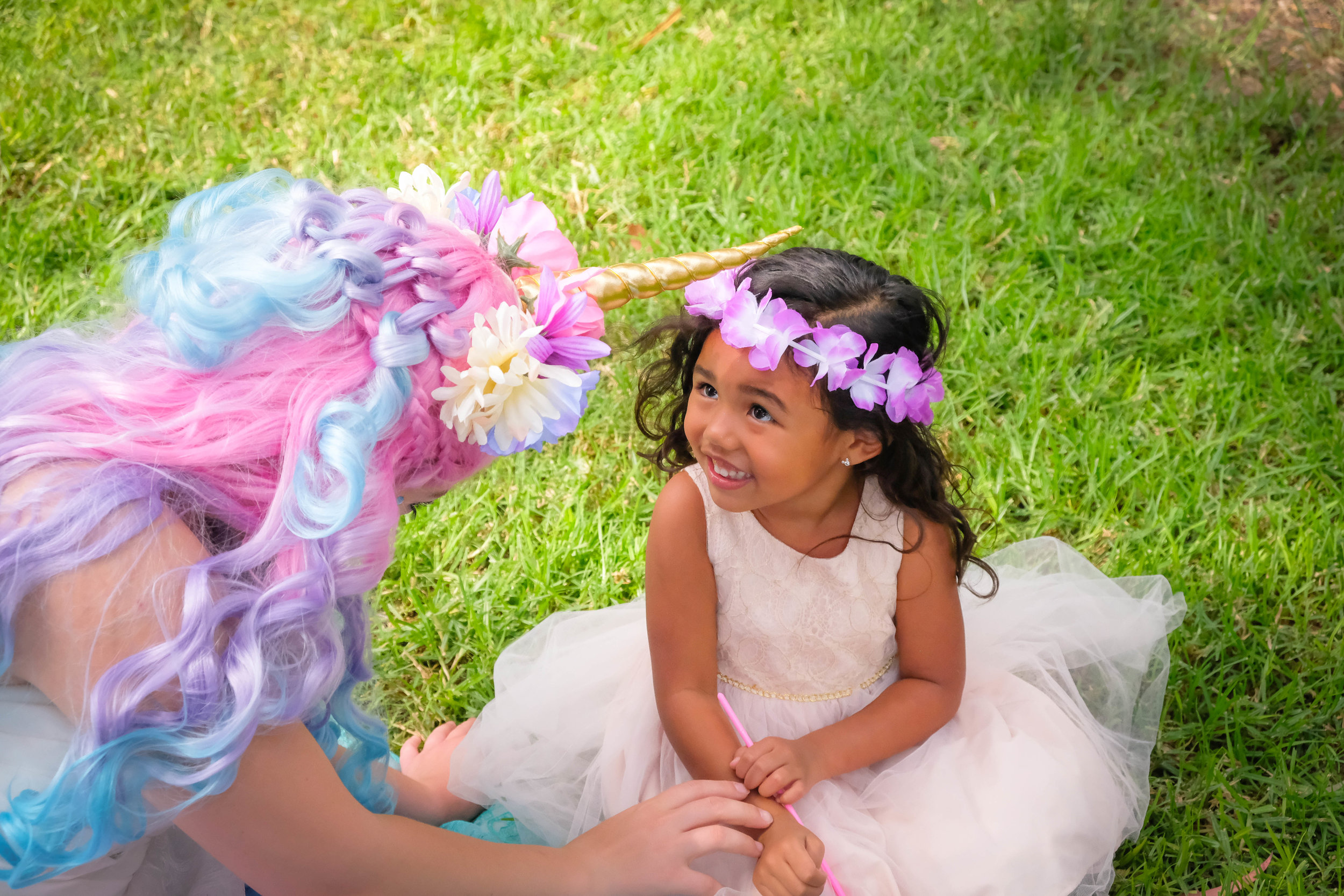 Orange County Inland Empire Unicorn Princess Birthday Party Entertainment Character 4