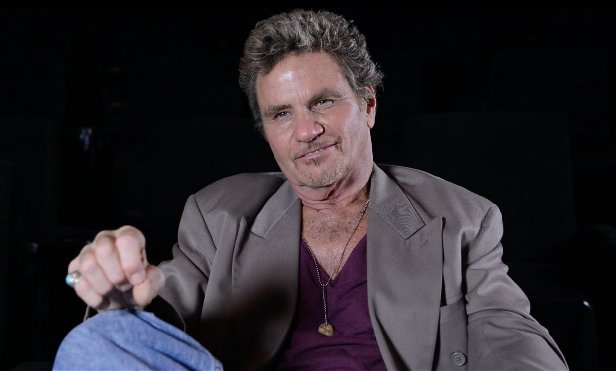"Martin Kove - Behind the Scenes Interview for ""Tapped"" 2014"