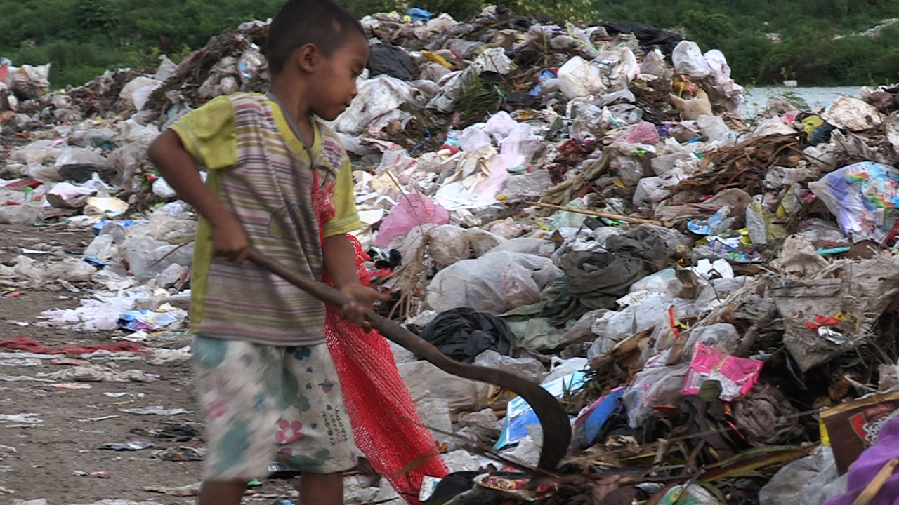 Many of these children have no idea of life outside the garbage dump