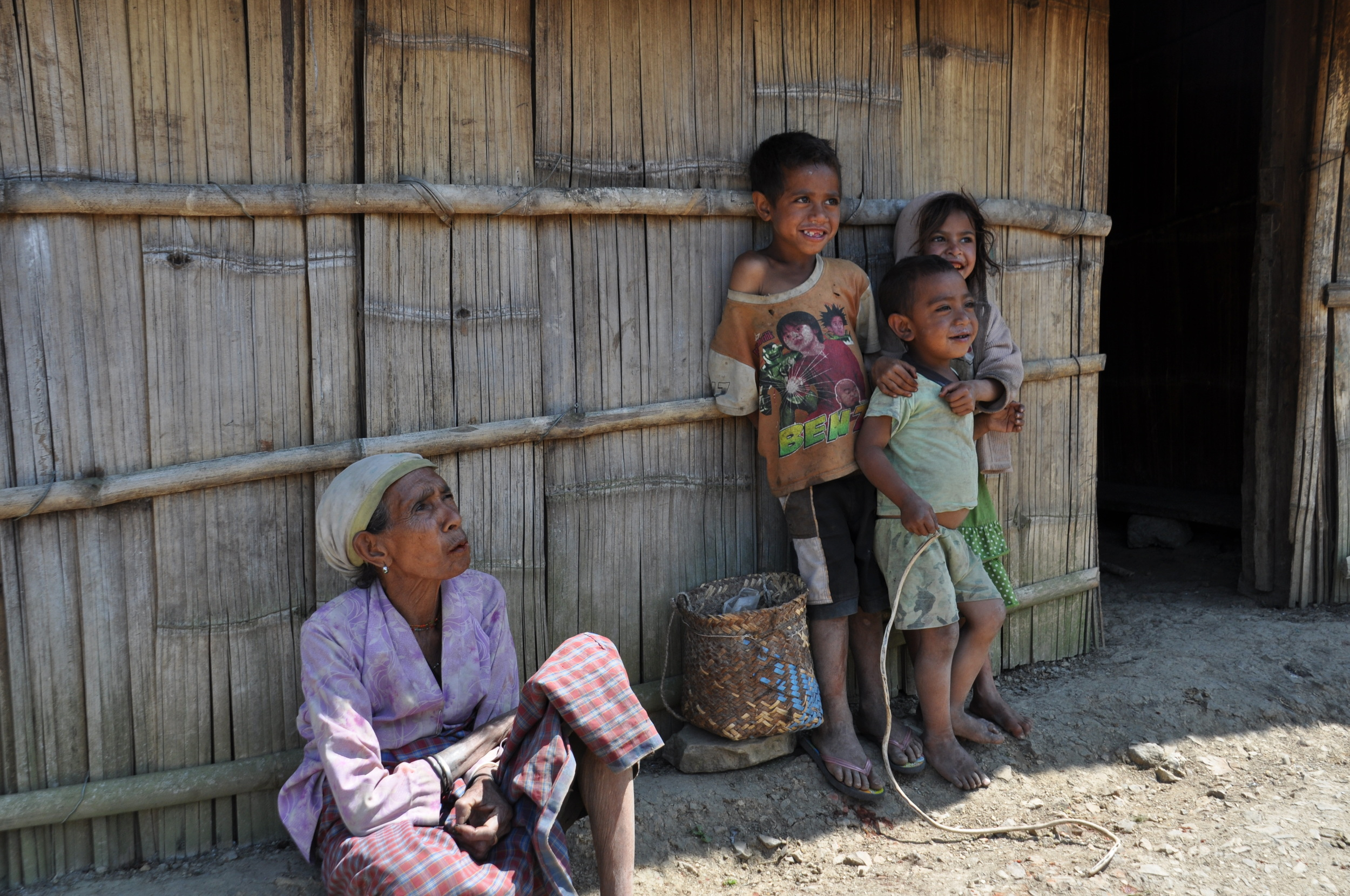 Children in the remote areas of Timor-Leste mostly come from poor farming communities with little access to education or health services