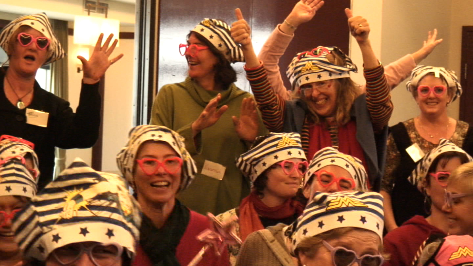 One of the many retreats where healing laughter is embraced and celebrated