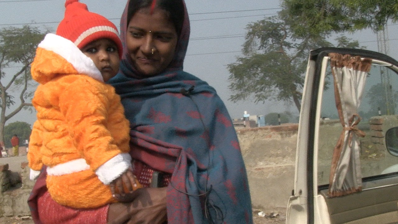 When I last filmed Sumon 7 years ago she was a living at a railway, self harming and running her own gang of young beggar kids. She finally left the railways to live permanently at Apna Ghar, Lucknow. Two years ago she married and now has a baby son. Together with her husband she is planning to open a small shop in her home village.