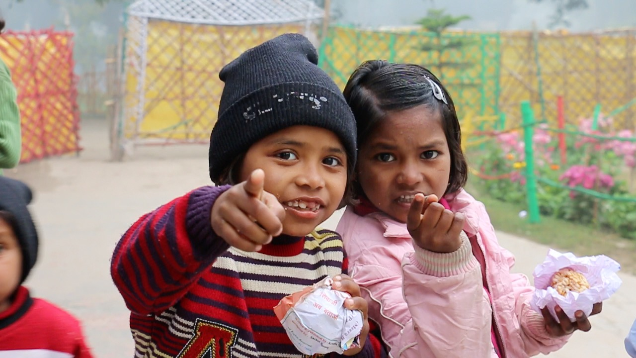 CoME children at Lucknow Apna Ghar, India
