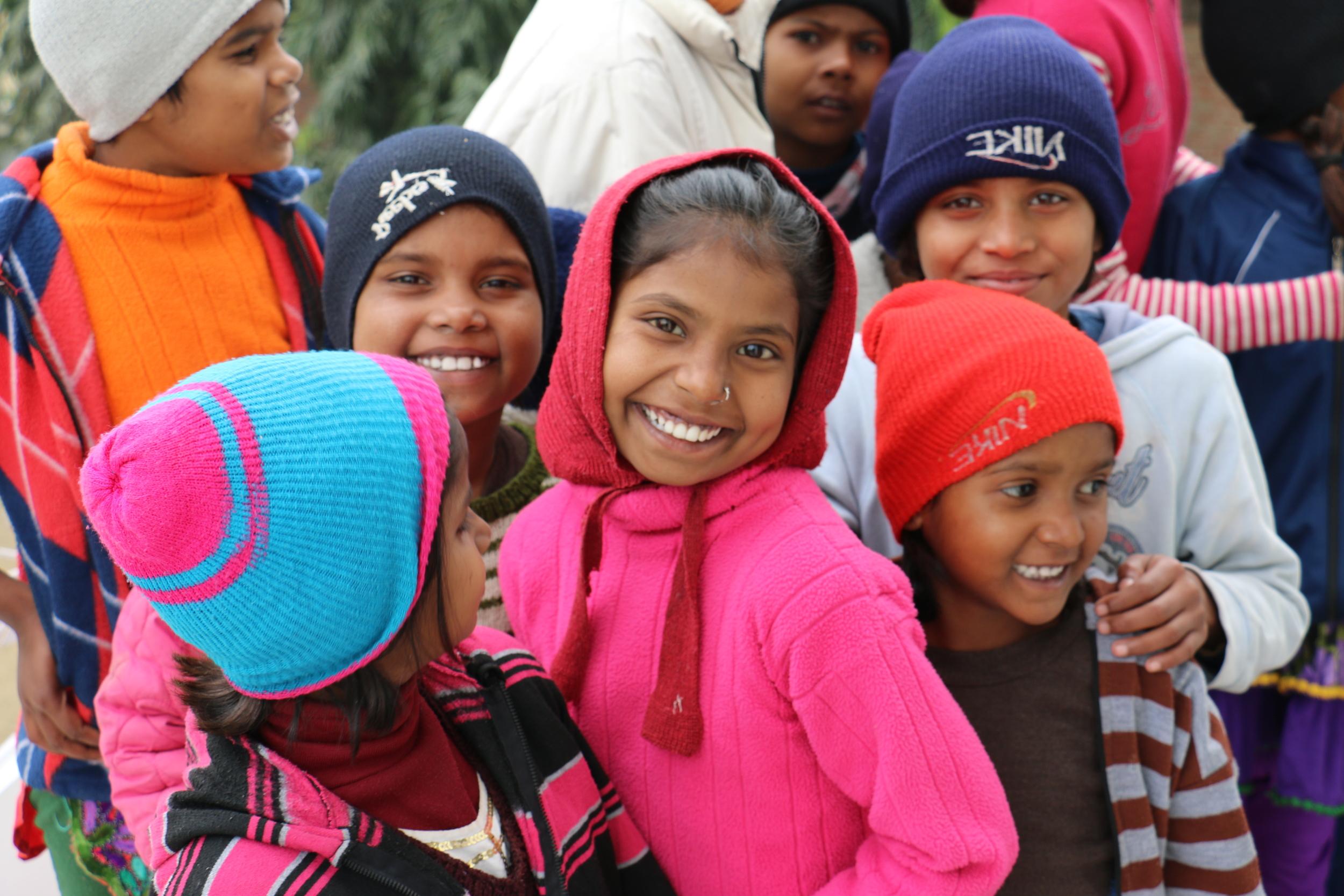 More of Ravi's incredibly cute kids. Phasar Apna Ghar, Northern india