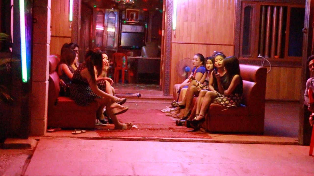Sex workers at Karaoke Bar - Phnom Penh