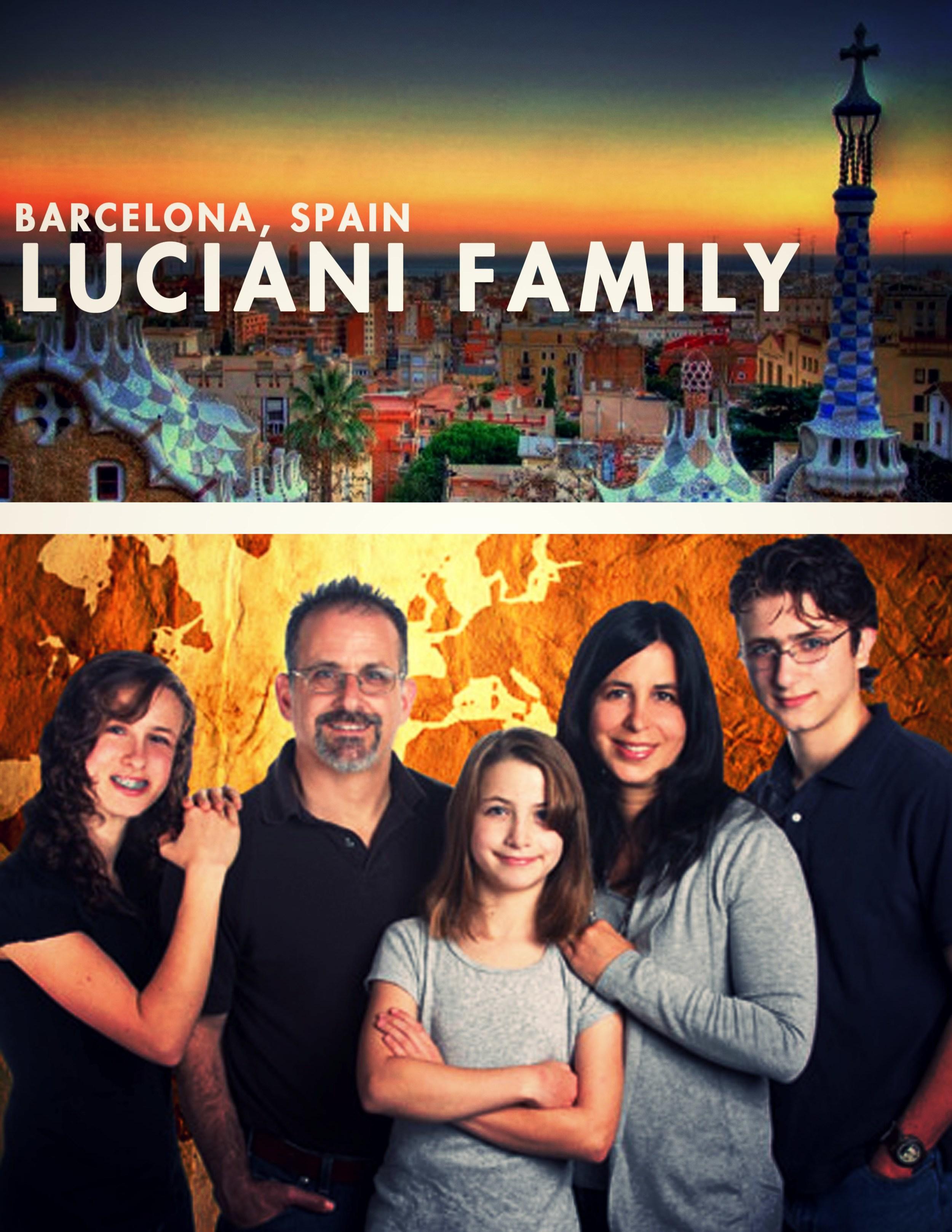 With their children,  Raquel, Gabriel and Priscilla