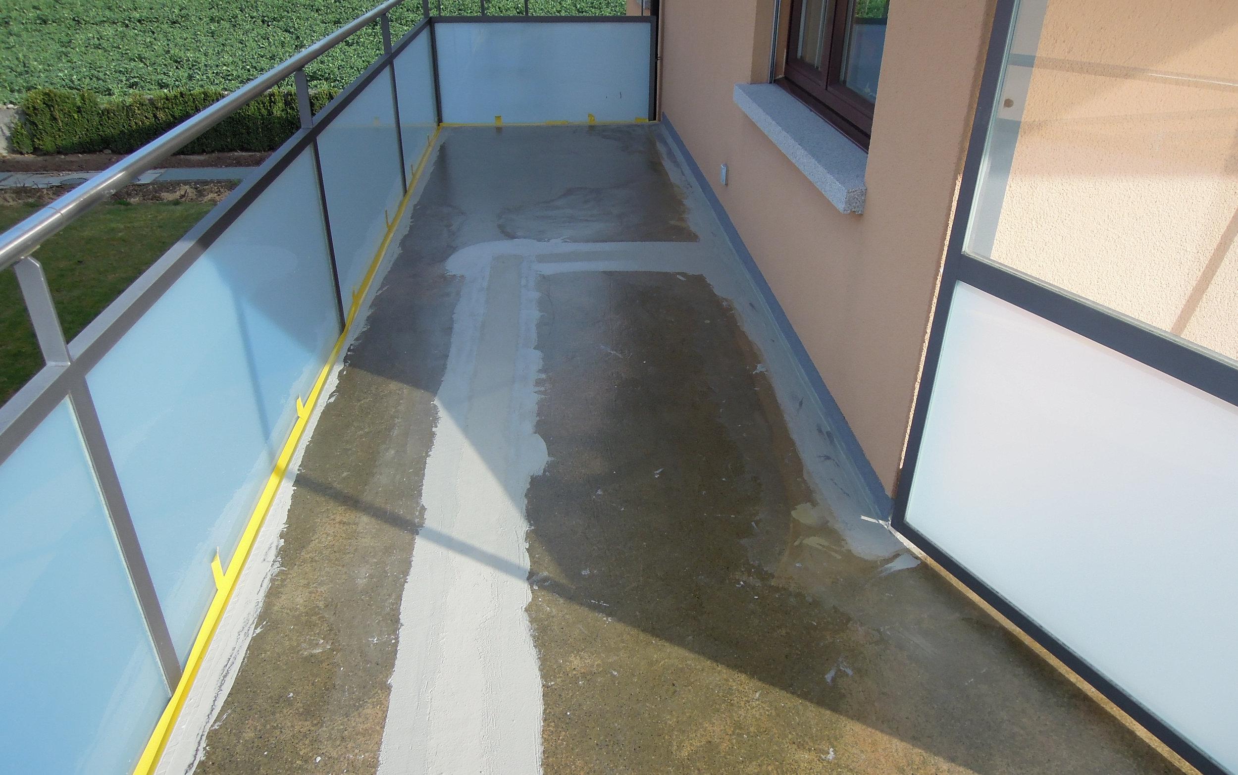 Sanierung Balkon