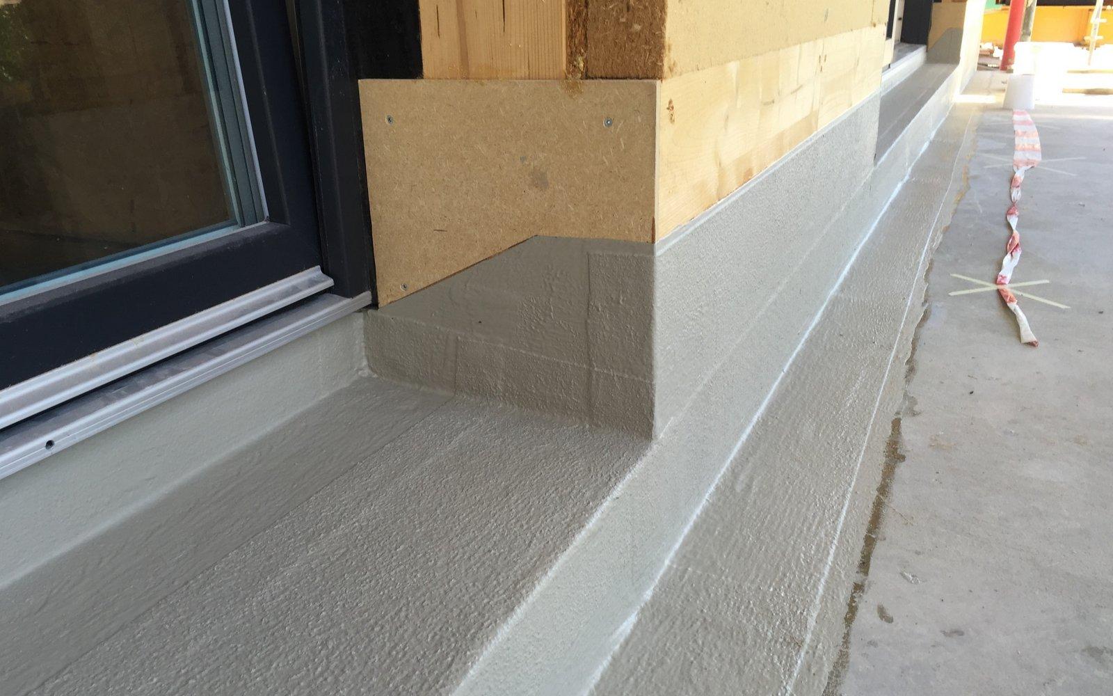 Abdichtung Holz Beton