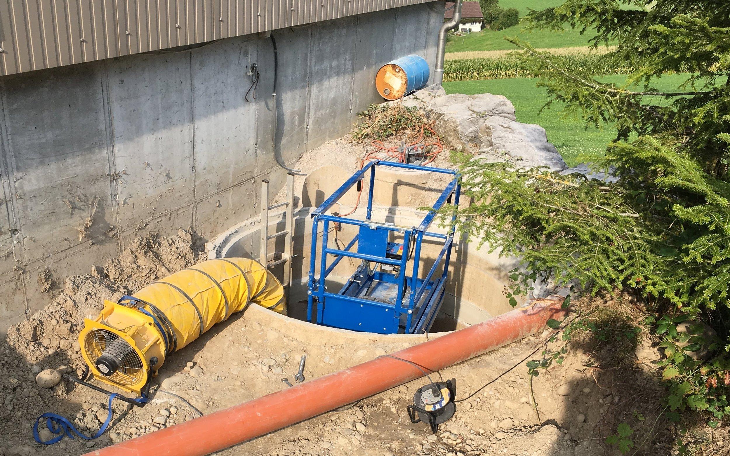 Abdichtung Wassertank