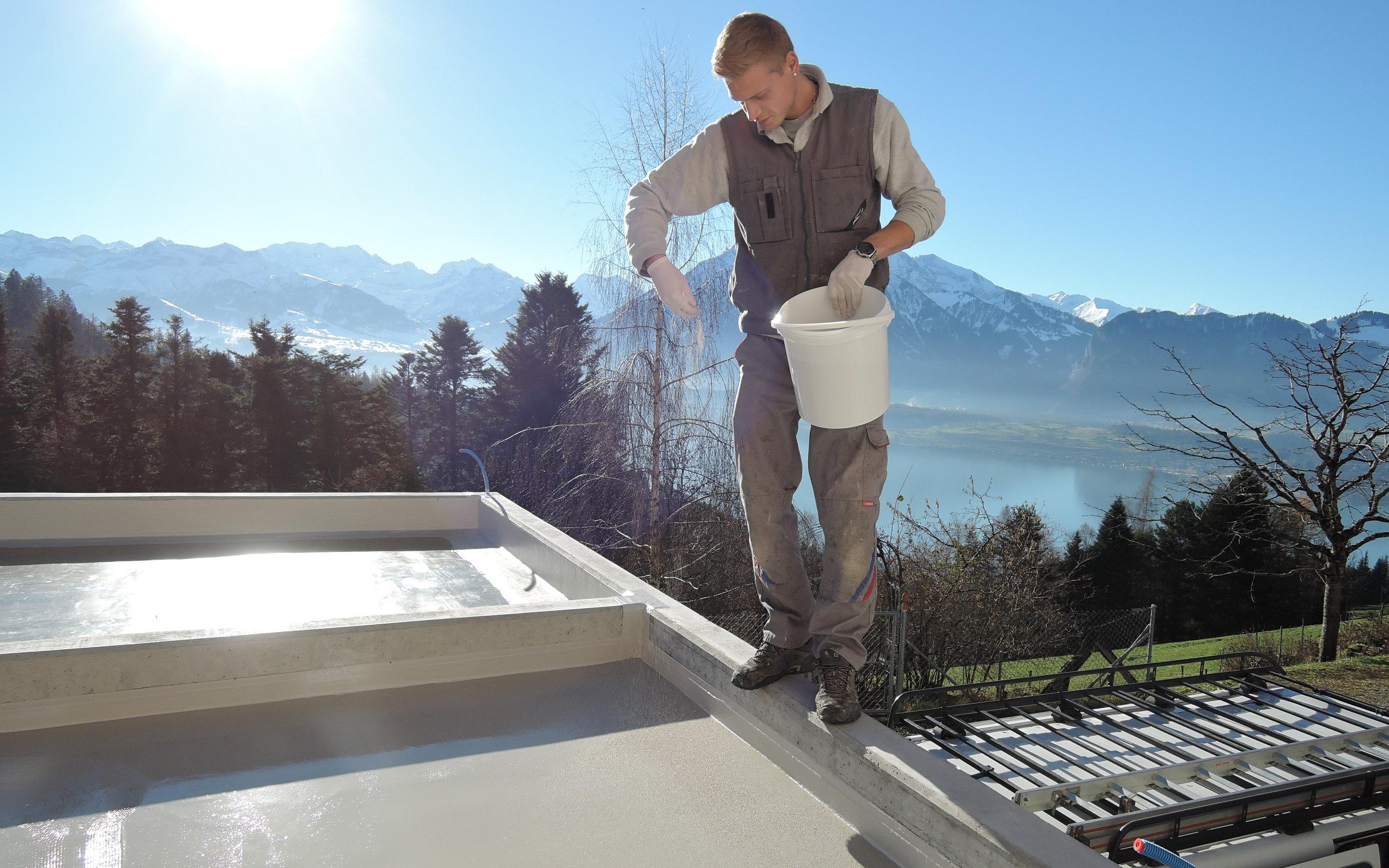 Beschichtung Terrasse