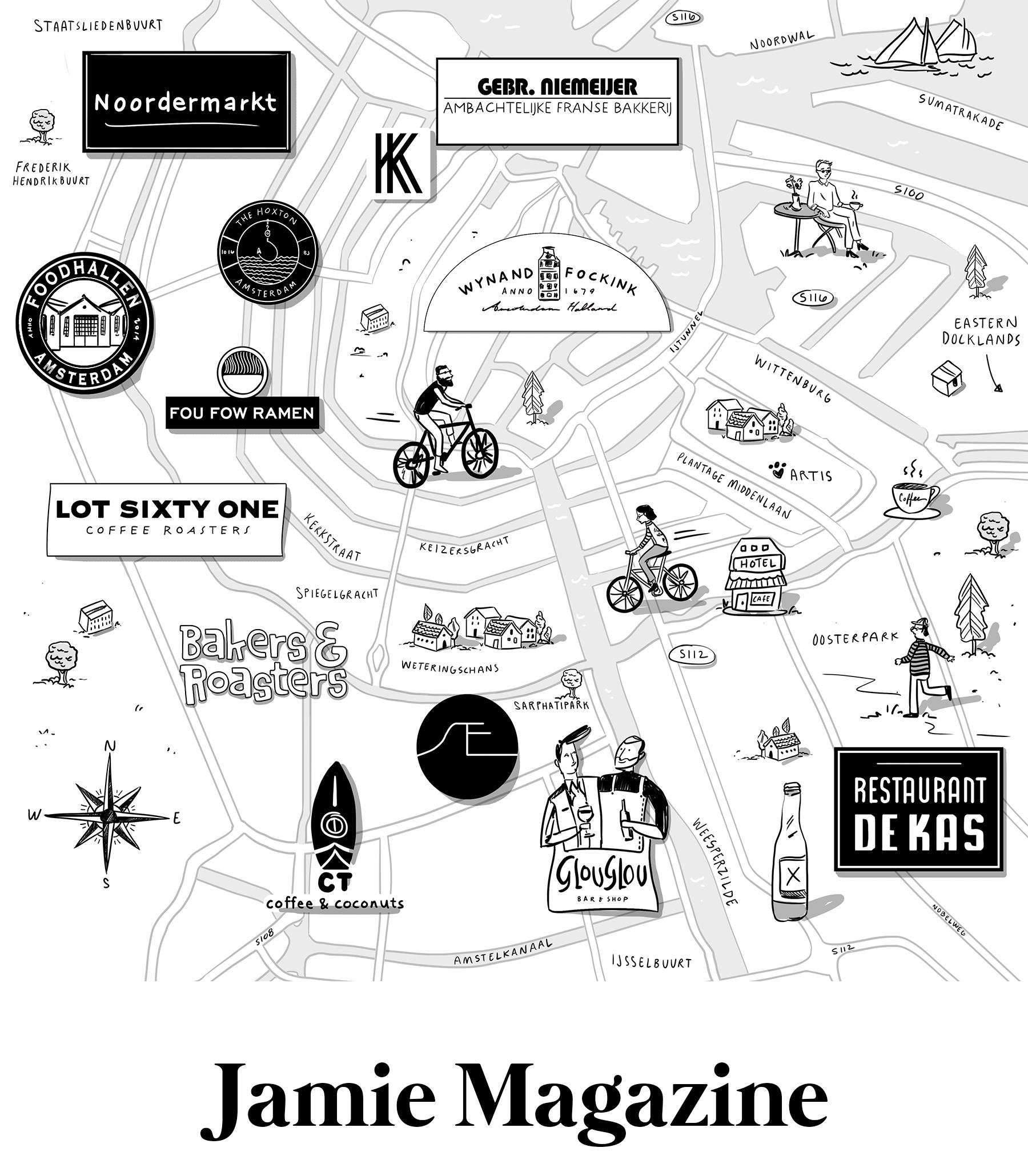 Amber Day, Jamie Magazine
