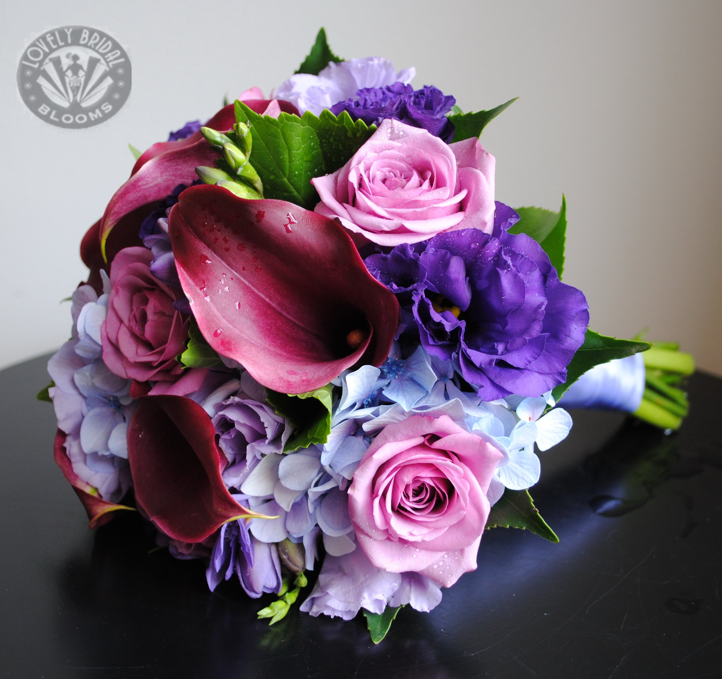 calla, rose, hydrangea, freesia, lissi bridesmaid.jpg