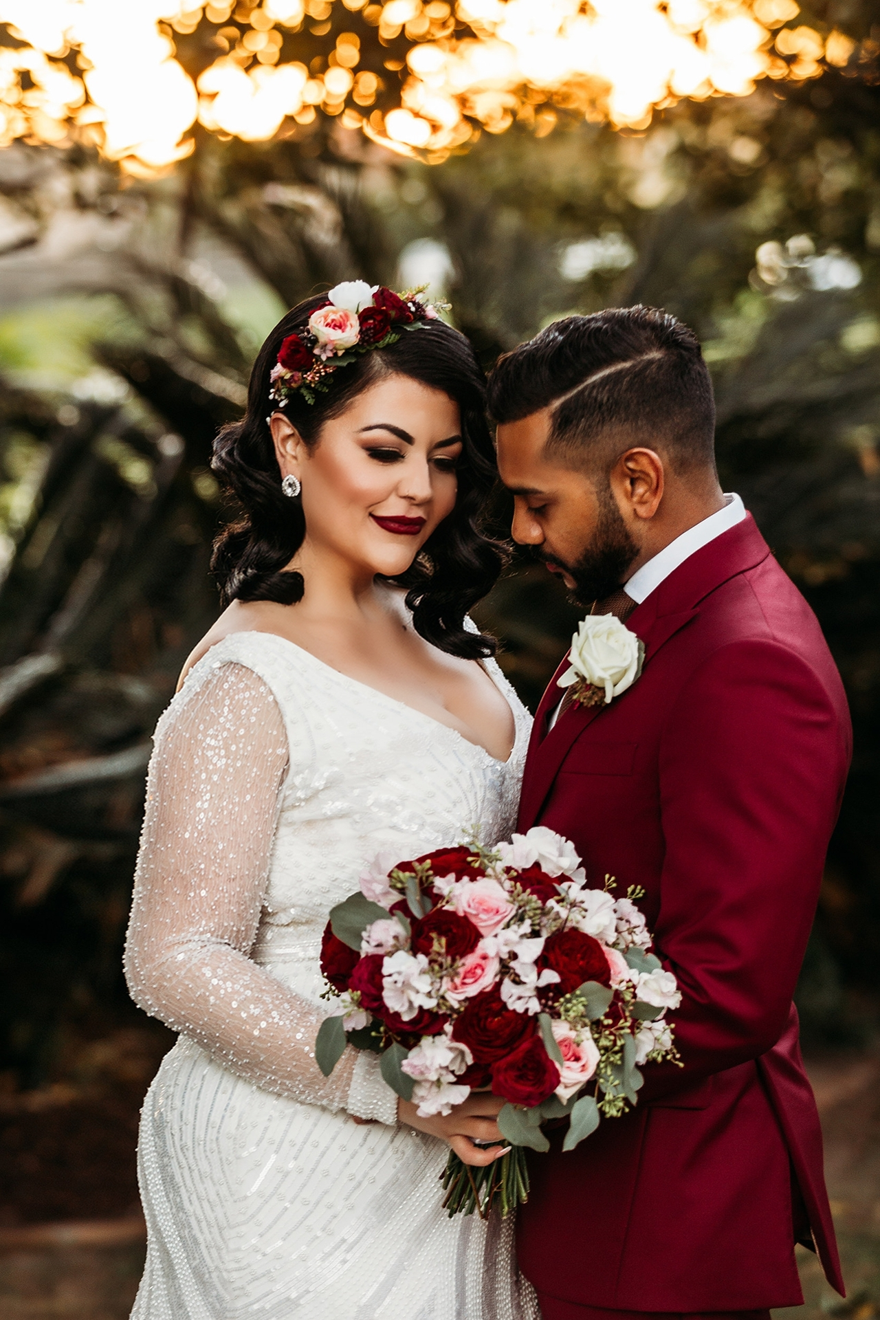 Didem and Richard - Perfect florals to complete our perfect day. Photography by Margan Photography