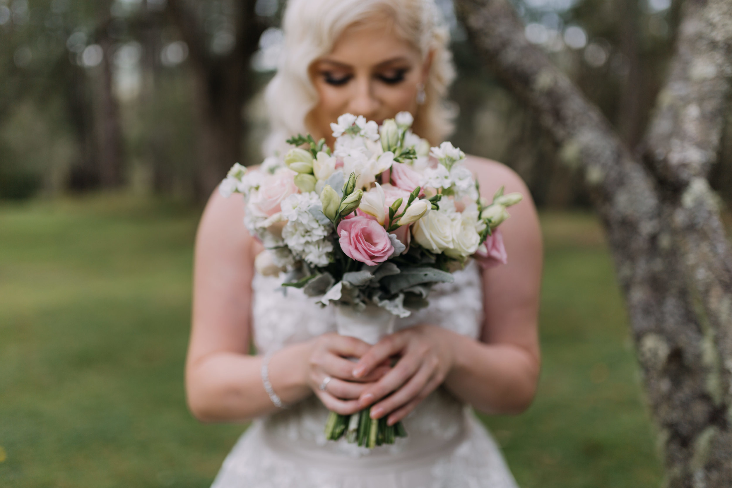"""Katie and Joshua - """"Thanks again for all your amazing work for our wedding! I was so in love with the flowers you put together for us."""" Zee and Cee Photography"""