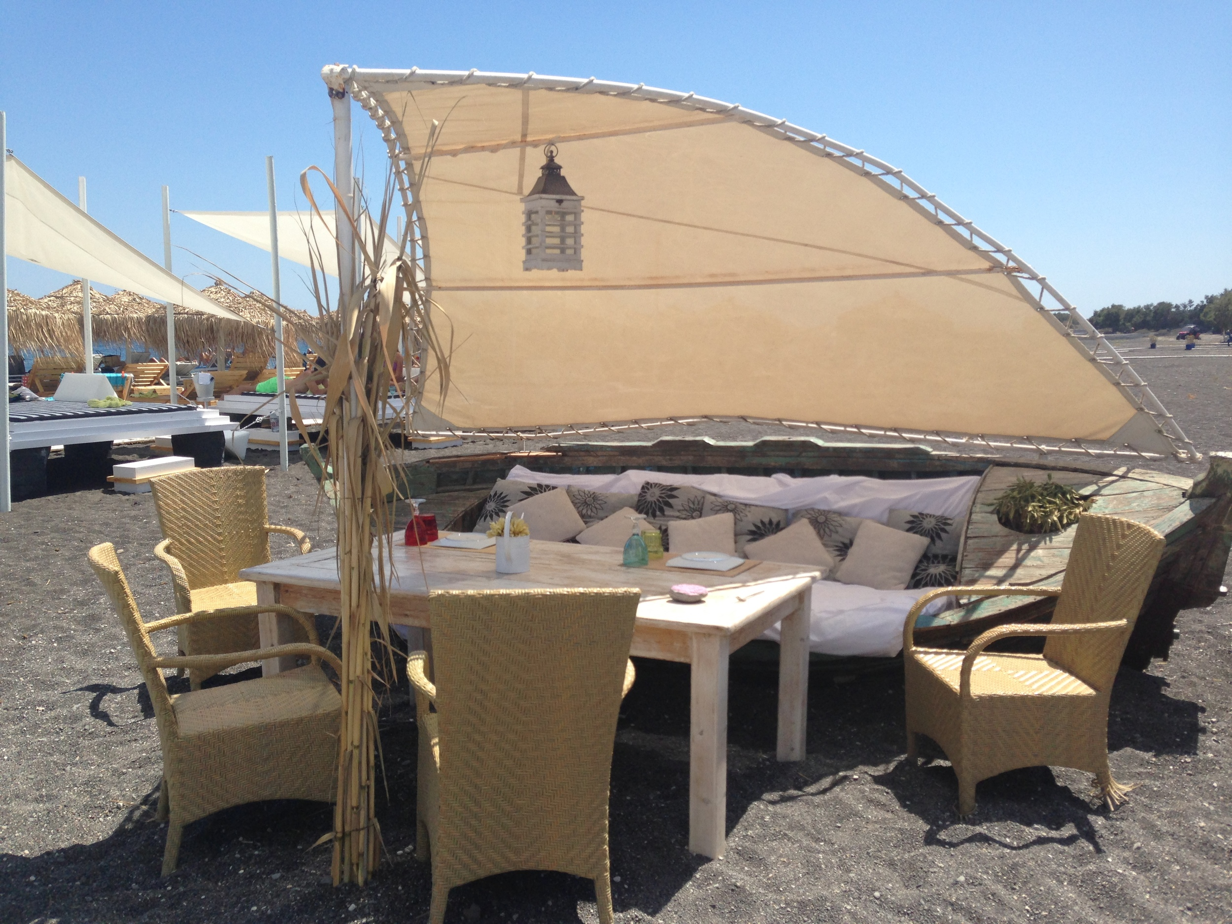 Enjoy the Seaside Notos by experience beachside or inside their restaurant.