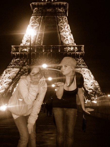 My last trip to Paris, Francein 2007