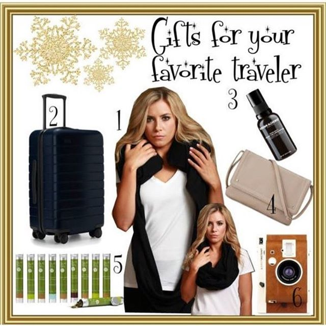 Still looking for a gift for your favorite traveler? Check out our picks! Link in bio. #TravelGifts #HolidayTravel #TravelMusthave #Giftguide #SleeperScarf #travelaccessories