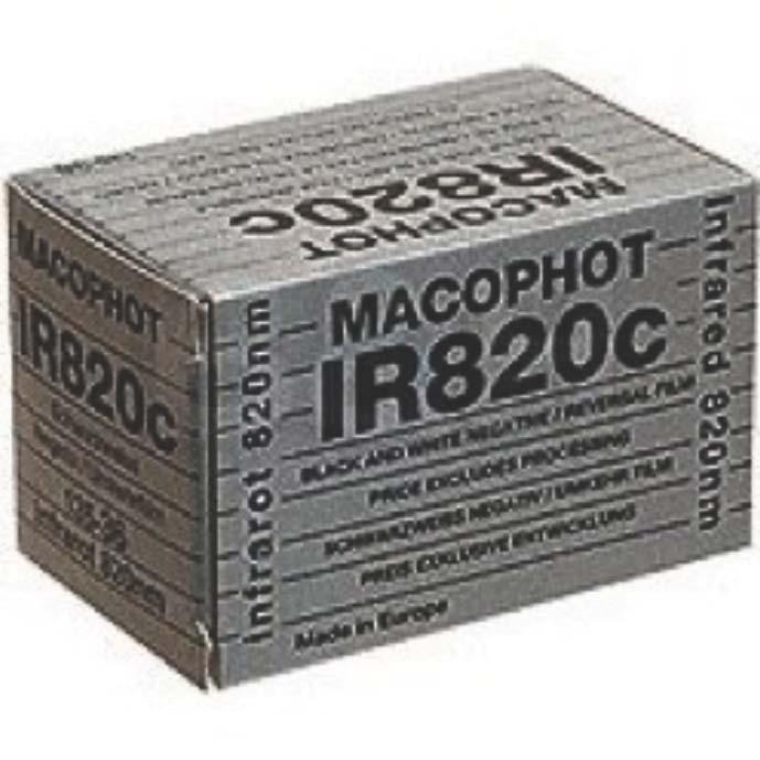 IR film, no longer in production: Maco 820c
