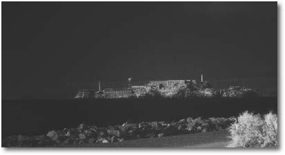 Alcatraz. Canon 1DsMkII, 28-135mm zoom, F/8, 4 seconds with 400ISO.