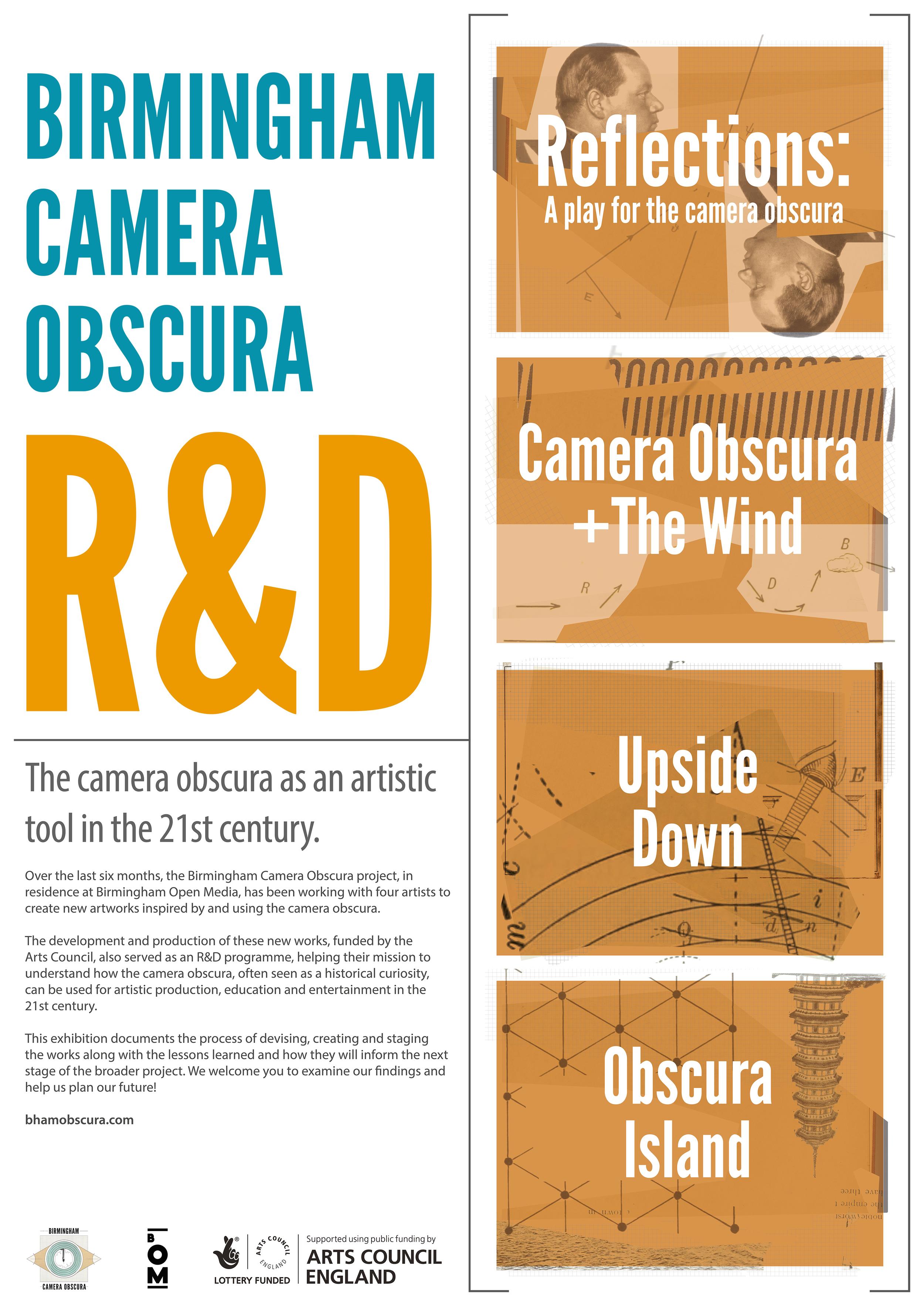Birmingham Camera Obscura - R&D exhibition