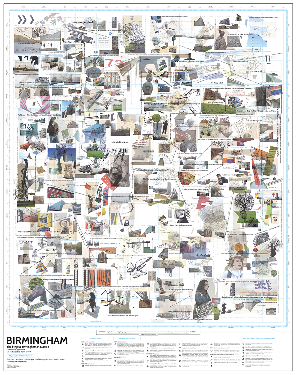 Trailblazers: In a visible city (map cover)